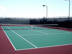 Single Subdivision Tennis Court