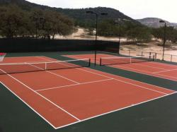 Double Tennis Court