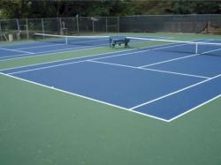 Double Subdivision Tennis Court
