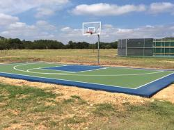 Half Basketball Court