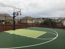 Half Court Basketball Court