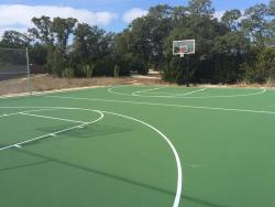 Full Acrylic Basketball Court