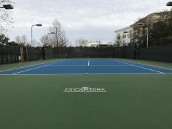 Commercial Tennis Court