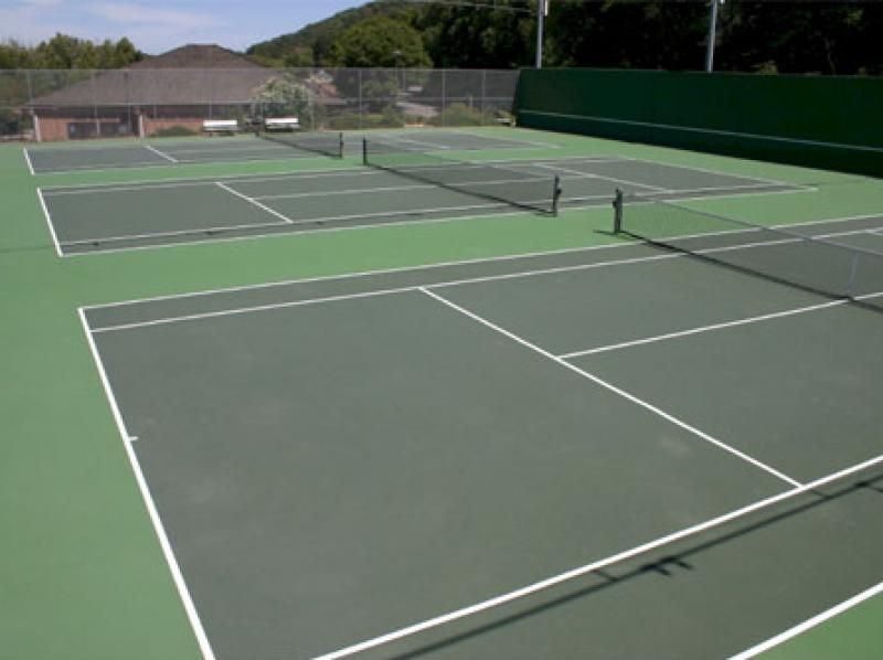 Triple Tennis Courts