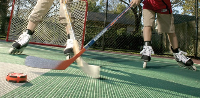 Sport Courts for Roller Hockey